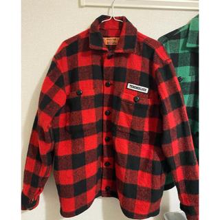 テンダーロイン(TENDERLOIN)のTENDERLOIN テンダーロイン バッファロー ジャケット Sサイズ 赤 (ブルゾン)