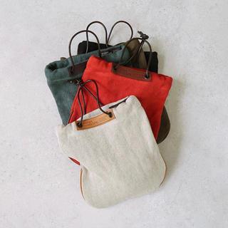 アトリエペネロープ(ateliers PENELOPE)の美品 アトリエペネロープ ショルダー ポーチ 鞄 ベージュ ナチュラル 茶色(ショルダーバッグ)