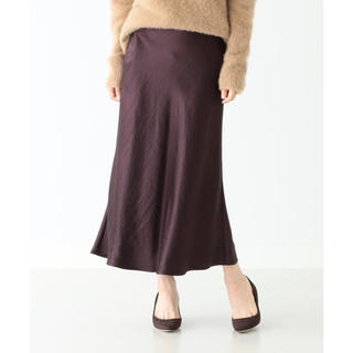 デミルクスビームス(Demi-Luxe BEAMS)のデミルクスビームス  サテンスカート(ロングスカート)