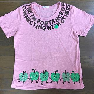 ラフ(rough)のroughのピンクTシャツ(Tシャツ(半袖/袖なし))