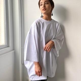 トゥデイフル(TODAYFUL)のTodayful  タックオーバTシャツ(Tシャツ(長袖/七分))