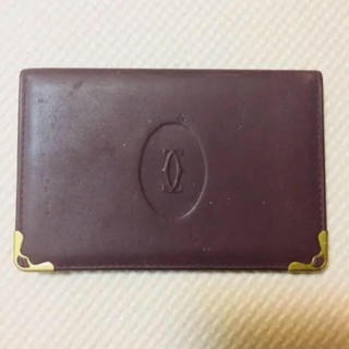 カルティエ(Cartier)のカルティエ パスケース(名刺入れ/定期入れ)