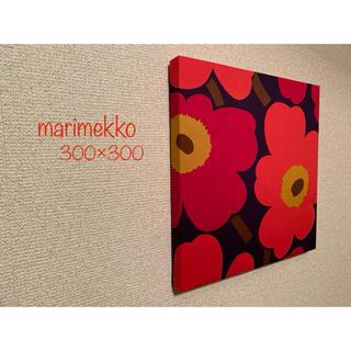 マリメッコ(marimekko)のmarimekko/マリメッコ 秋色ウニッコ ハンドメイドファブリックパネル (インテリア雑貨)