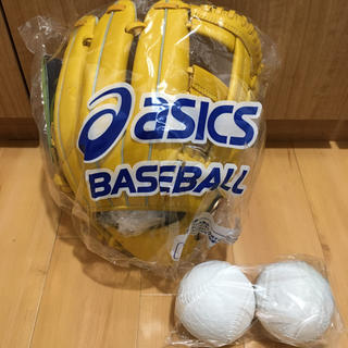asics - アシックス グローブ 野球 軟式 DIVE ダイブ 内野手用 右投げ用