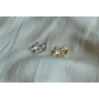 イエナスローブ(IENA SLOBE)のnami ring𓃇⦅silver⦆(リング(指輪))