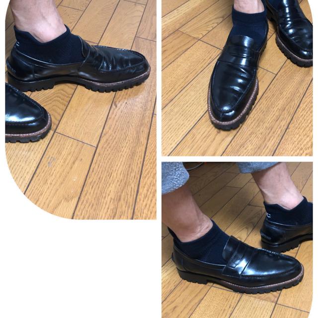 COMME des GARCONS(コムデギャルソン)のcomme des garçonsコムでギャルソンローファーシューズ メンズの靴/シューズ(ドレス/ビジネス)の商品写真