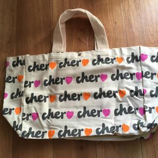 シェル(Cher)のシェル ロゴキャンパストートバッグ 付録品(トートバッグ)