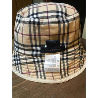 バーバリー(BURBERRY)のバーバリー BURBERRY キルティング帽子52cm(帽子)