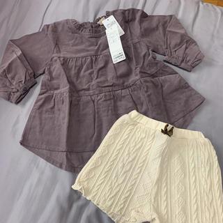 プティマイン(petit main)のセットアップ(Tシャツ/カットソー)