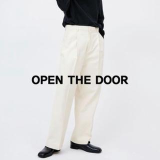 ディーホリック(dholic)のopen the door 白 パンツ(デニム/ジーンズ)