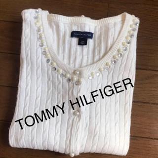 トミーヒルフィガー(TOMMY HILFIGER)の【中古品】TOMMY HILFIGER トミーヒルフィガー カーディガン S/P(カーディガン)