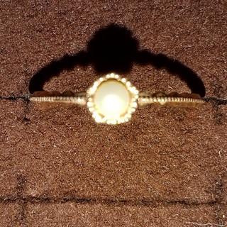 ジュピターゴールドレーベル(jupiter GOLD LABEL)のk10 パールリング ジュピター(リング(指輪))