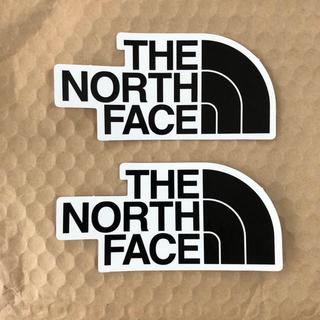 ザノースフェイス(THE NORTH FACE)のTHE NORTH FACE ステッカー 二枚(ステッカー)