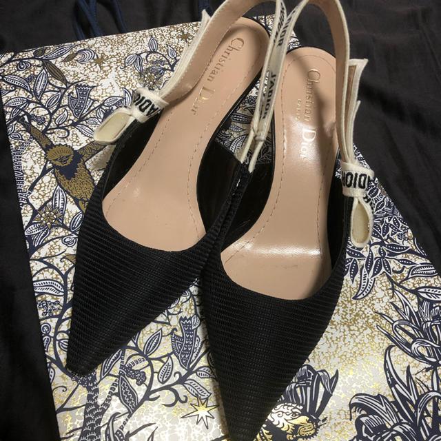 Dior(ディオール)のDior スリングバックパンプス レディースの靴/シューズ(ハイヒール/パンプス)の商品写真