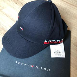 トミーヒルフィガー(TOMMY HILFIGER)のtommy HILFIGER キャップ 帽子 sm サイズ ネイビー(帽子)