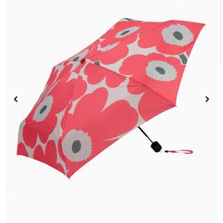 マリメッコ(marimekko)のマリメッコ   傘 折り畳み傘 新品(傘)