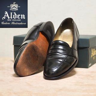 Alden - Alden 9D オールデン コードバン ペニーローファー 6845