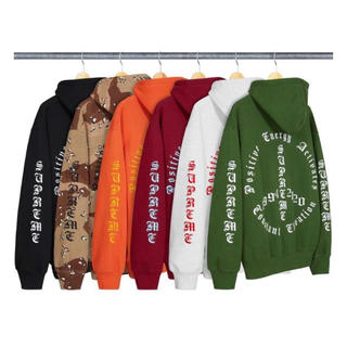 シュプリーム(Supreme)のPeace Hooded Sweatshirt supreme 2020aw(パーカー)