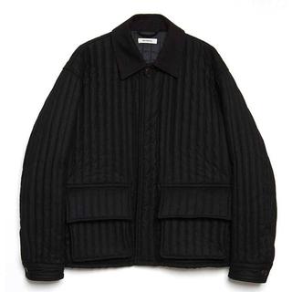 コモリ(COMOLI)の本日限定値下げ matsufuji Stripe Quilted Jacket (ブルゾン)
