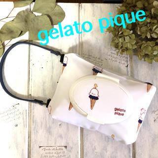 ジェラートピケ(gelato pique)のジェラートピケ⭐️おしりふき&ウエットティッシュポーチ(ベビーおしりふき)
