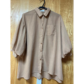 ウィゴー(WEGO)のパフスリーブシャツ(シャツ/ブラウス(半袖/袖なし))