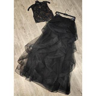 ビーシービージーマックスアズリア(BCBGMAXAZRIA)の❤️BCBG 2020新作 新品 上下セット ドレス 綺麗(ウェディングドレス)
