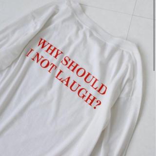 イエナスローブ(IENA SLOBE)のIena イエナ ロングスリーブ シャツ Tシャツ(Tシャツ/カットソー(七分/長袖))