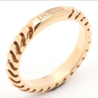 ダミアーニ(Damiani)のレア 高級ブランド ダミアーニ k18 リング YG 54 14号(リング(指輪))