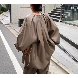 ステュディオス(STUDIOUS)のクラネ EGG FAKE leather jacket CLANE ジャケット(ノーカラージャケット)