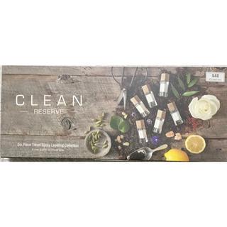 クリーン(CLEAN)のクリーン リザーブ トラベル レイヤリング コレクション  6種類 5mlセット(ユニセックス)