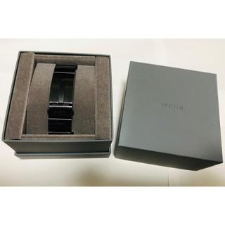 ソニー(SONY)のwena wrist pro WB-11A(腕時計(デジタル))