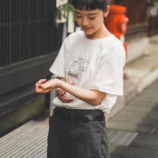ヤエカ(YAECA)のharenoti. チャリティー Tシャツ チャリT(Tシャツ(半袖/袖なし))