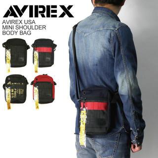 アヴィレックス(AVIREX)の☆ 即購入可能 AVX595 ミニポーチ ショルダーバッグ アビレックス ☆(ショルダーバッグ)