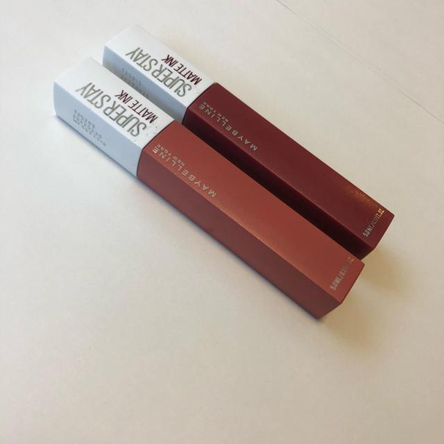 MAYBELLINE(メイベリン)のMAYBELLINE メイベリン SPステイ マットインク 2本セット コスメ/美容のベースメイク/化粧品(口紅)の商品写真