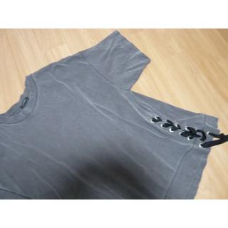 ジーナシス(JEANASIS)の値下げ★ JEANASIS BIG Tシャツ リボン ジーナシス(Tシャツ(半袖/袖なし))