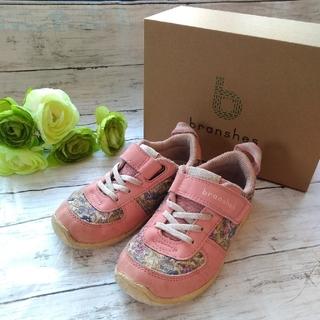 ブランシェス(Branshes)の花柄♡イフミー✕ブランシェス コラボスニーカー 17cm 女の子 運動靴(スニーカー)