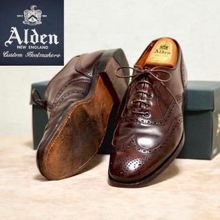 Alden - Alden 9B オールデン コードバン ウィングチップ A764