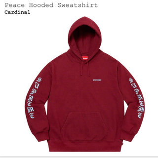 シュプリーム(Supreme)のsupreme Peace Hooded Sweatshirt (パーカー)