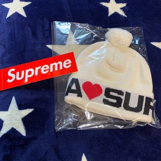 シュプリーム(Supreme)のLove supreme beanie natural 2020AW(ニット帽/ビーニー)