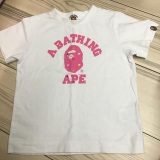 アベイシングエイプ(A BATHING APE)のTシャツ★100(Tシャツ/カットソー)