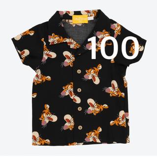Disney - 新品 ディズニーリゾート 限定 ティガーアロハシャツ キッズ 100