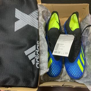 アディダス(adidas)の【新品未使用】 X18.1 FG/AG  25.5cm(シューズ)