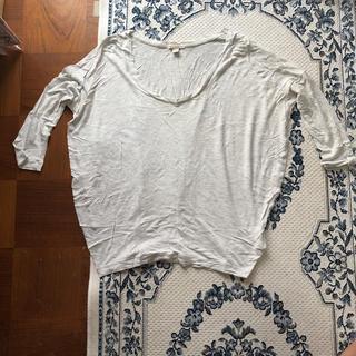 ギャップ(GAP)のgap   七分袖Tシャツ xxxsサイズ(Tシャツ(長袖/七分))