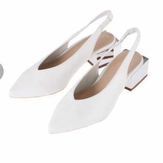 マーキュリーデュオ(MERCURYDUO)のmercuryduoポイントヒールVカットパンプス(ローファー/革靴)