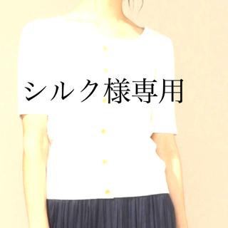 エニィファム(anyFAM)のany FAM☆ ニットTシャツボタン プルオーバー(ニット/セーター)