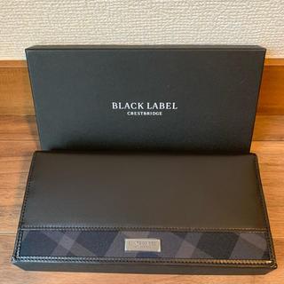 ブラックレーベルクレストブリッジ(BLACK LABEL CRESTBRIDGE)のブラックレーベルクレストブリッジ 財布 新品未使用(長財布)