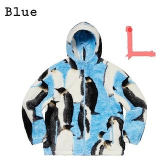 シュプリーム(Supreme)の★ペンギン L Penguins Hooded Fleece Jacket(ブルゾン)