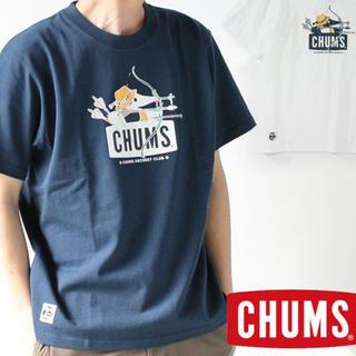 チャムス(CHUMS)のチャムス Tシャツ メンズ CHUMS アーチェリーブービーTシャツ Mサイズ(Tシャツ(半袖/袖なし))
