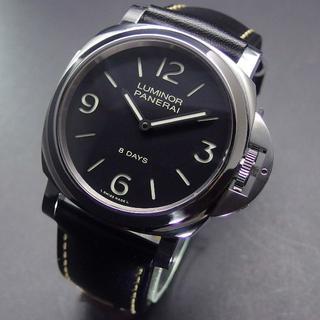 パネライ(PANERAI)の超美品 Q番 パネライ サンドイッチ文字盤 PAM00560 ルミノールベース (腕時計(アナログ))