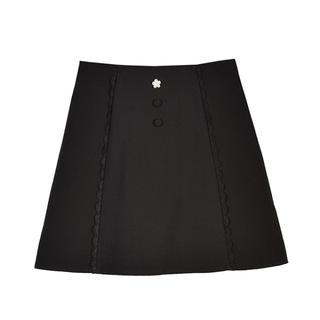 evelyn - エブリンのビジューボタンスカート